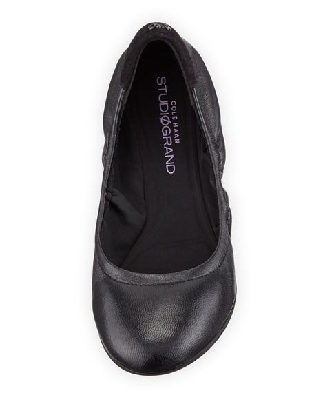 Studiogrand Napa Ballerina Flat, Black