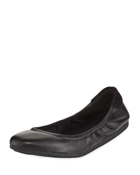Cole Haan Studiogrand Napa Ballerina Flat, Black