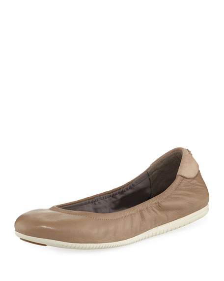 Cole Haan Studiogrand Napa Ballerina Flat, Maple Sugar