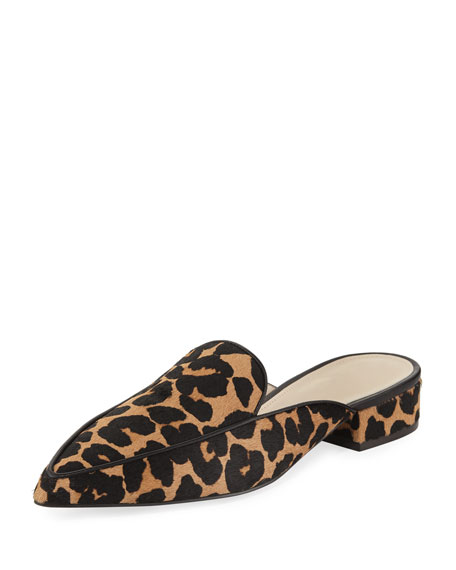 Cole Haan Piper Grand Flat Loafer Mule, Ocelot