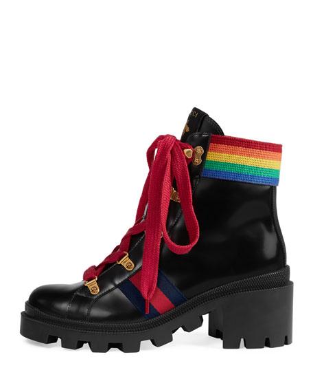 Flat Trip Leather Hiking Boot