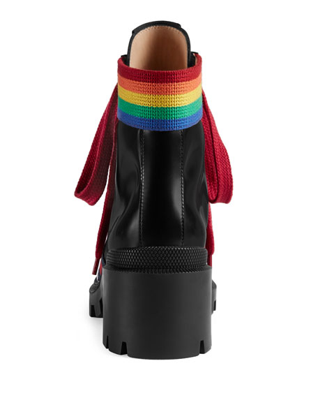 Trip Rainbow Leather Hiking Boot
