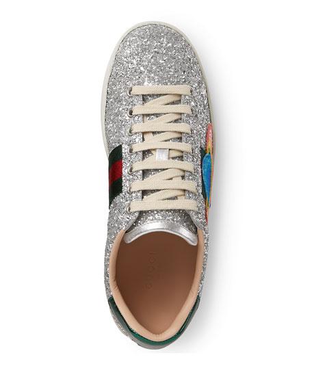 Ace Saturn Glitter Low-Top Sneaker