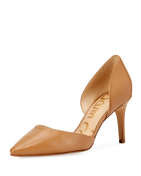 58760a4495d8 Sam Edelman Telsa Leather d'Orsay Pump