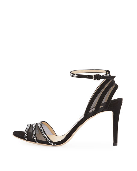 Betty Strappy Crystal 85mm Sandal