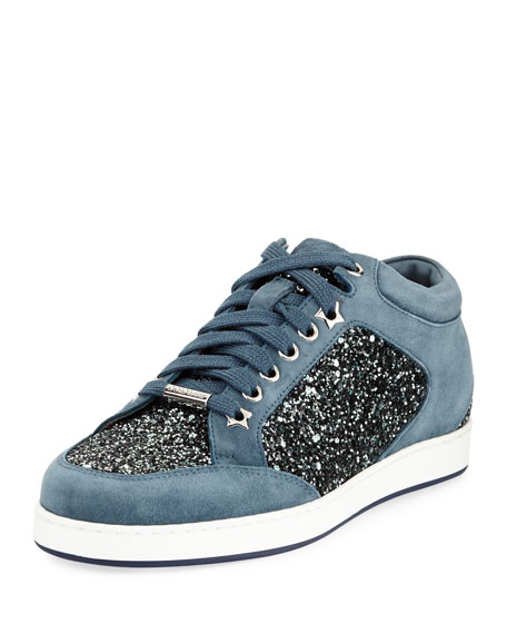 Miami Coarse Glitter Sneakers