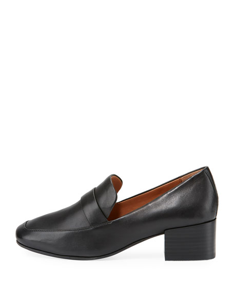 Eliott Low-Heel Leather Loafer