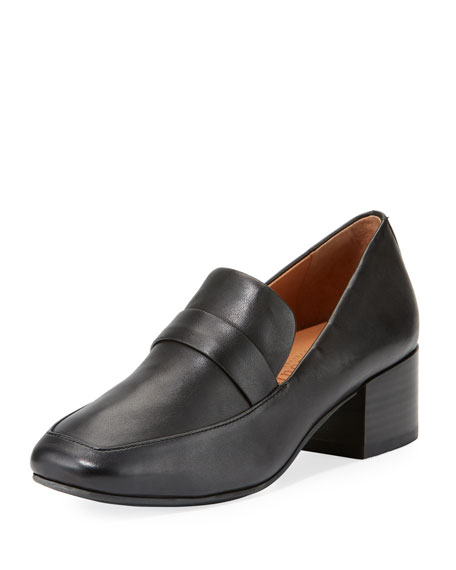 Gentle Souls Eliott Low-Heel Leather Loafer