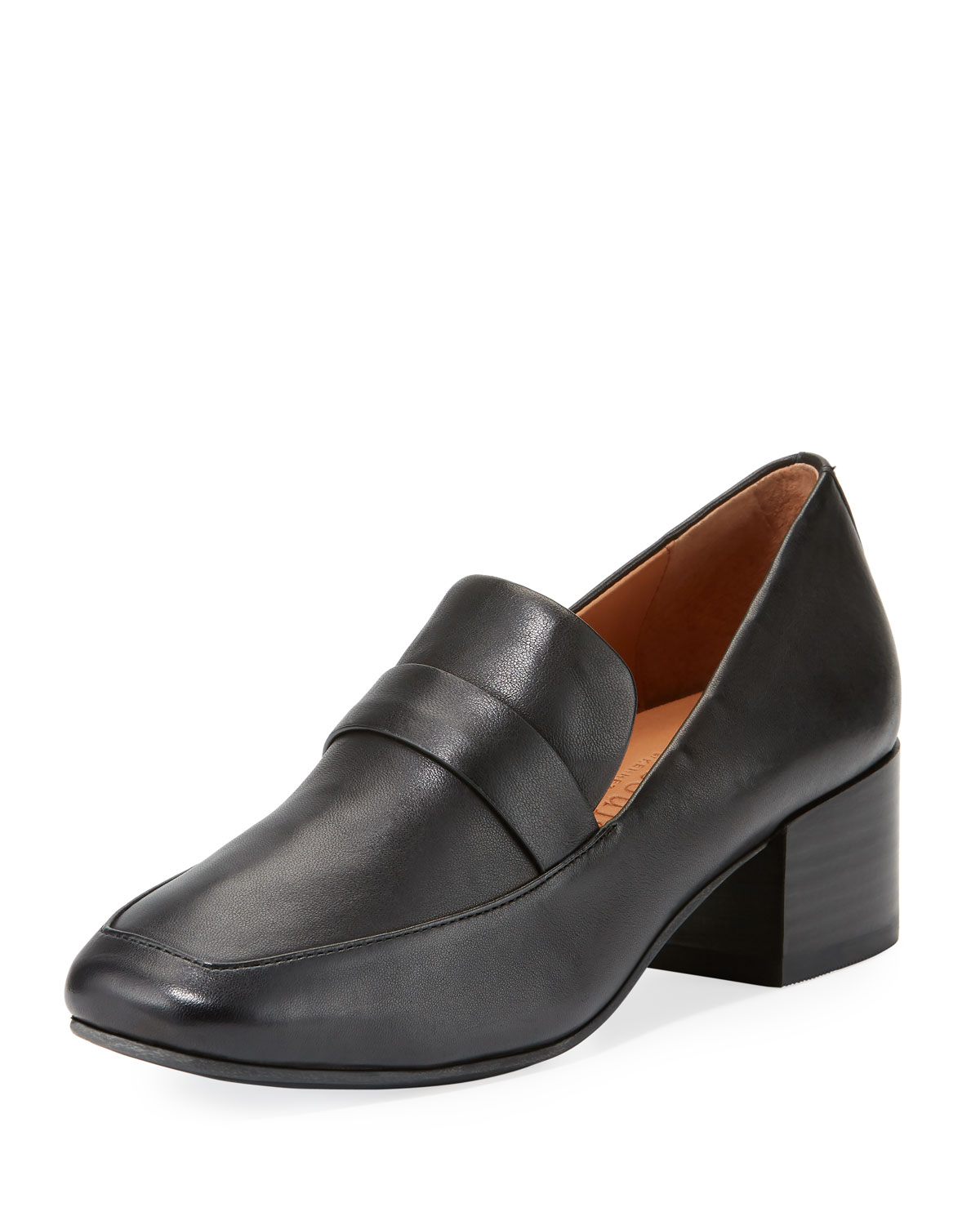 9029268c284 Gentle Souls Eliott Low-Heel Leather Loafer