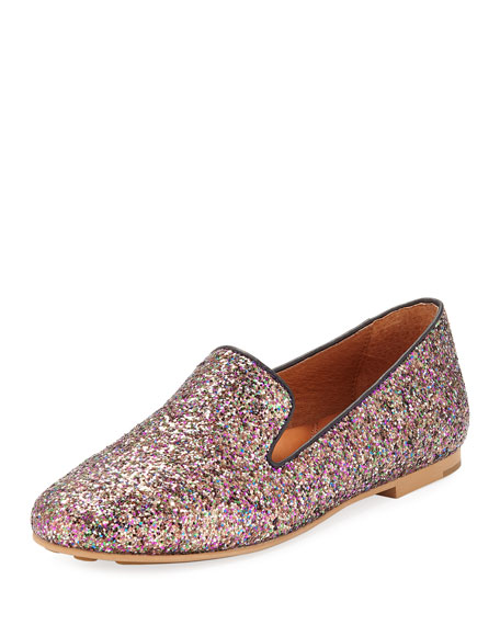 Gentle Souls Eugene Glitter Smoking Slipper
