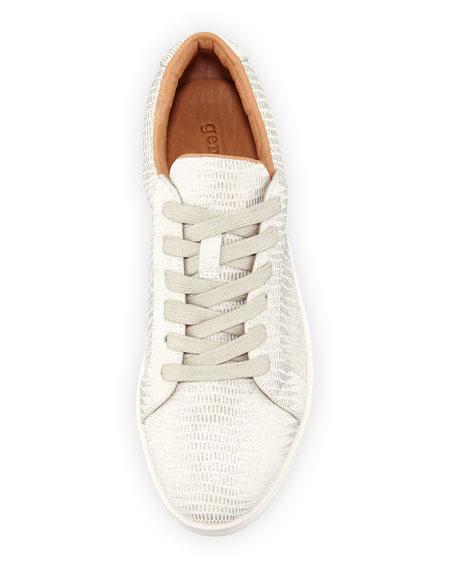 Haddie Metallic Platform Sneaker