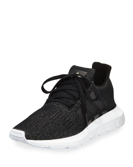 Adidas Swift Run Trainer Sneaker, Black