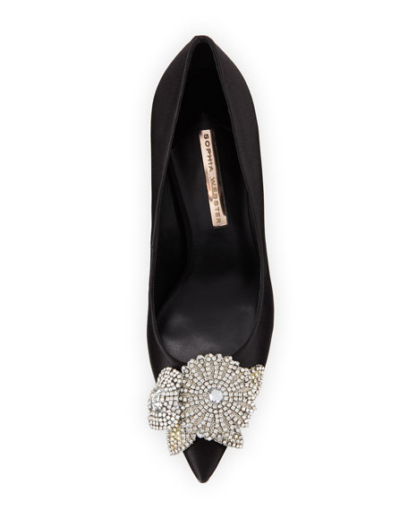 Sophia Webster Lilico Crystal-Embellished Pump