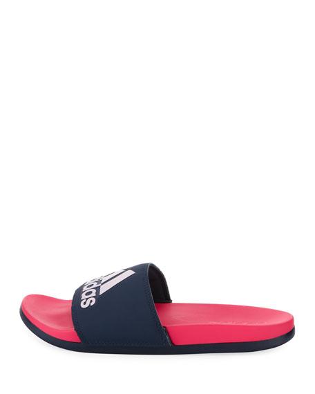 Adilette Colorblock Logo Slide Sandal