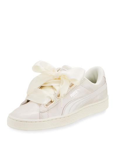 Basket Heart Lace-Up Sneaker