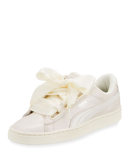Puma Basket Heart Lace-Up Sneaker