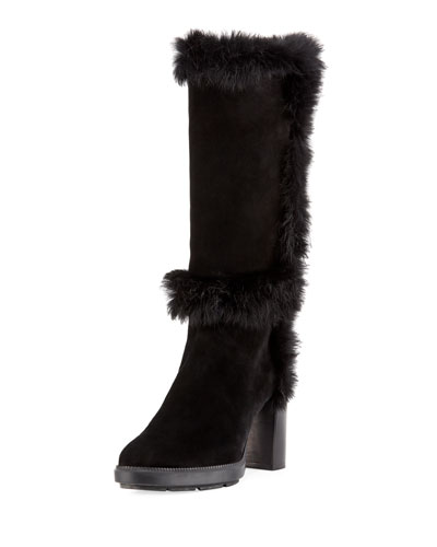 Imelda Heeled Knee Boot