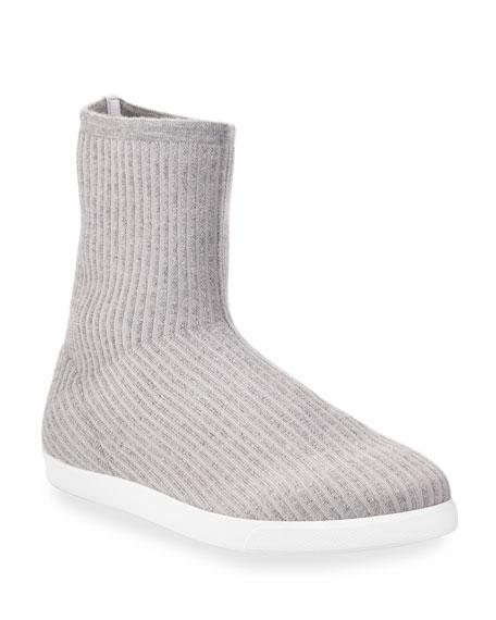 Dean Knit Cashmere Sock Booties