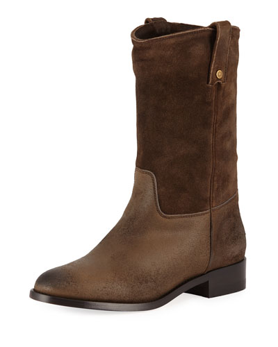 Hudson Low Western Boot