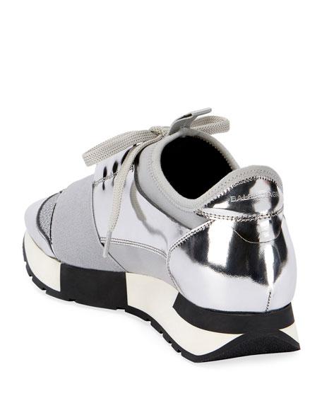 Classic Metallic Runner Sneaker