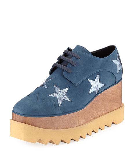 Elyse Metallic Stars Creeper Skate Sneaker
