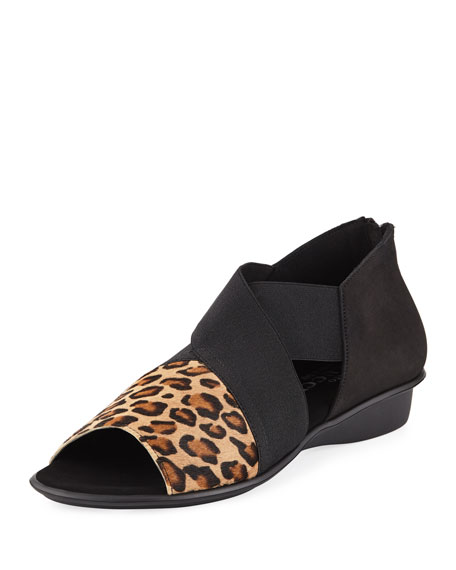Sesto Meucci Elmine Comfort Slip-On with Calf Hair
