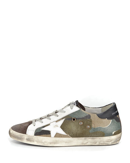 Superstar Camouflage Low-Top Sneaker