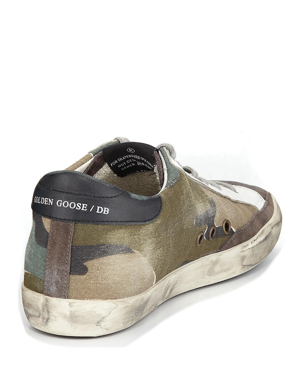 Golden Goose Superstar Camouflage Low