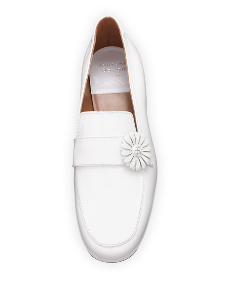 Raphael Daisy Patent Leather Loafer