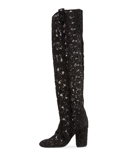 95mm To-The-Knee Lace Boot