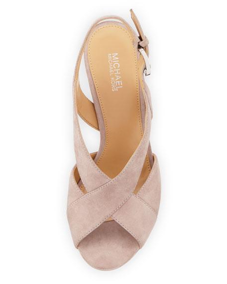Becky Crisscross Slingback Sandal