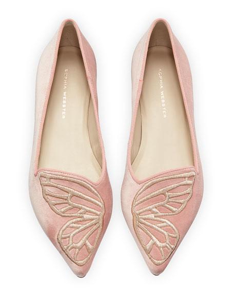 Bibi Butterfly Velvet Flat
