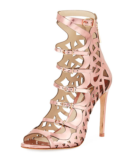 Sophia Webster Gia Cutout Strappy Sandal Bootie