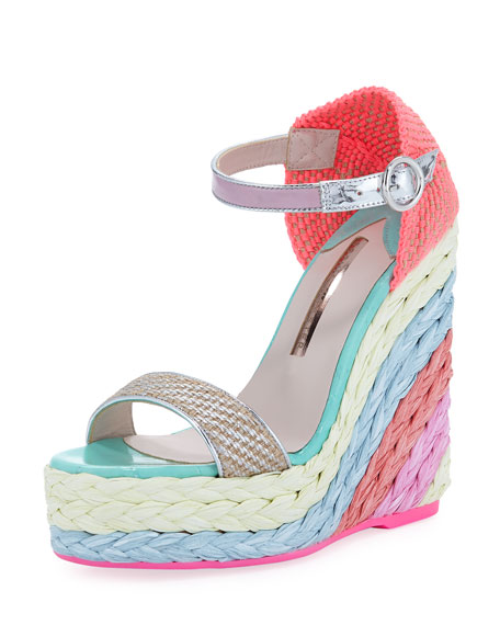 Sophia Webster Lucita Platform Espadrille Sandal