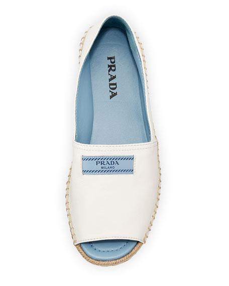 Metallic Double-Sole Espadrille Sandal