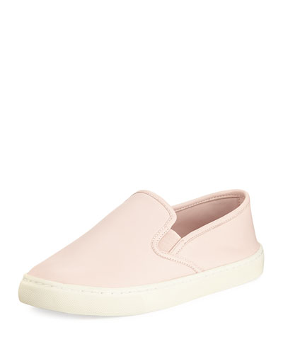 Max Slip-On Leather Skate Sneaker