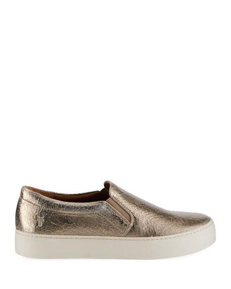 Lena Crackled Platform Sneaker
