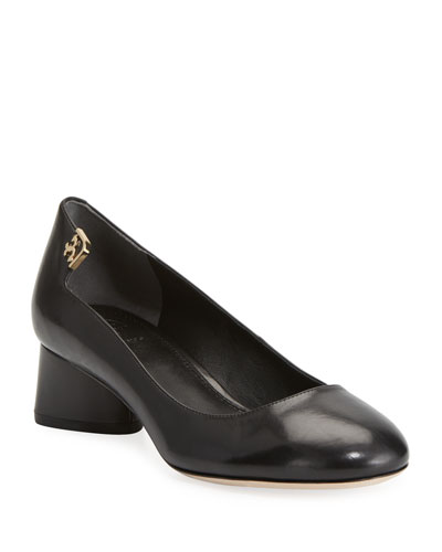 Elizabeth Leather 40mm Pump