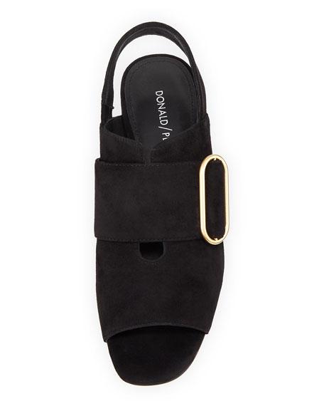 Randie Slingback Peep-Toe Sandal