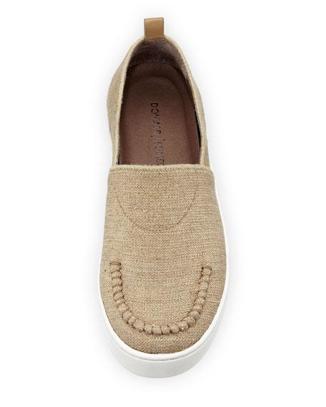 Cory Comfort Linen Elastic Flat