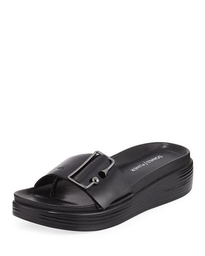 Fara Metallic Platform Sandal