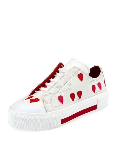 Tessu Rose Petal Platform Sneaker