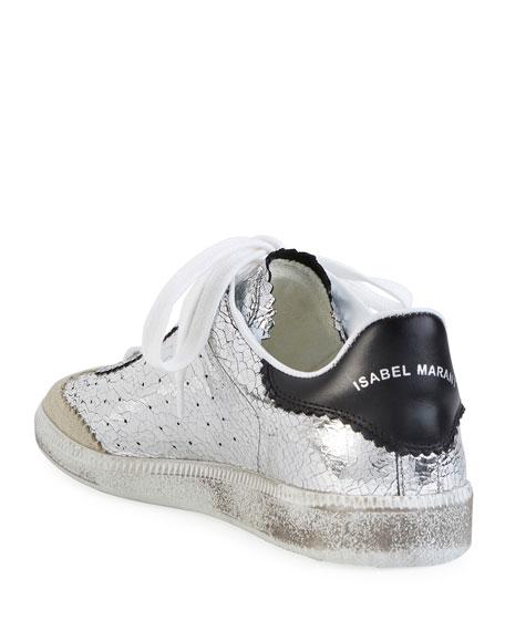 Bryce Metallic Lace-Up Sneaker