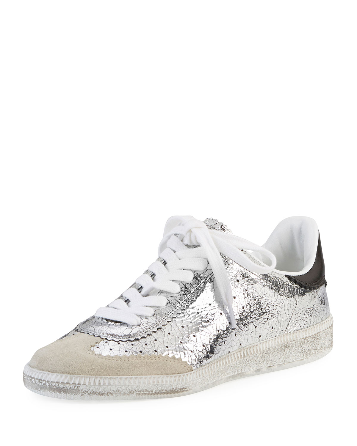 Bryce metallic lace-up sneakers Isabel Marant SpVHryLQ