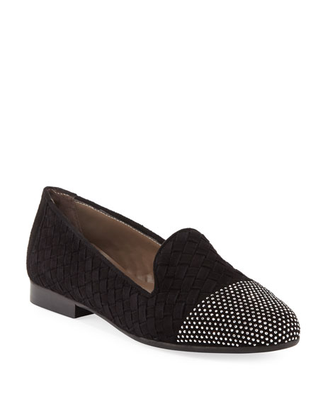 Norrie Embellished Woven Loafer