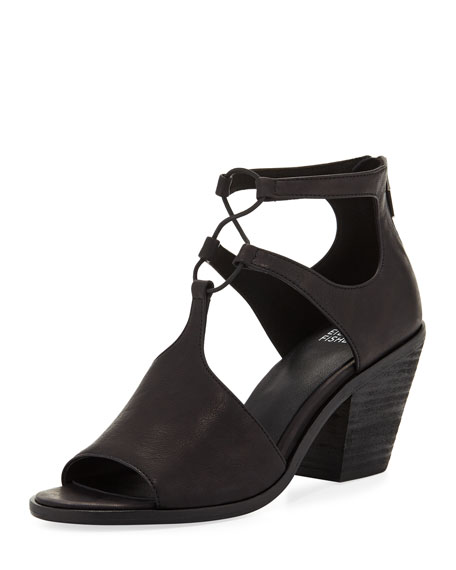 Lou Washed Leather Sandal