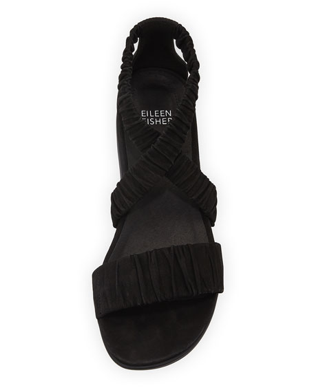 Dylan Tumbled Scrunched Sandal