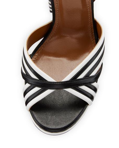 Sundance Plateau Leather Platform Sandal