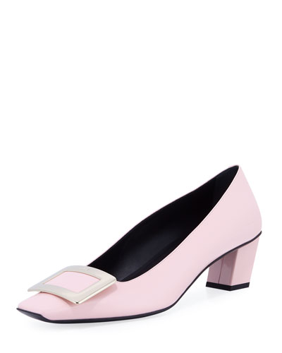 Decollete Belle Vivier Leather Pump