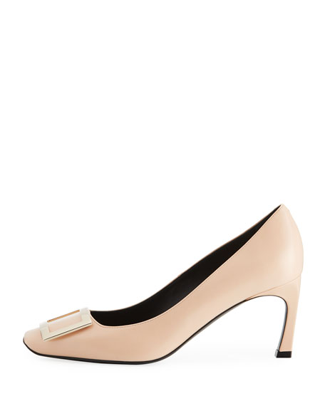 Dec. Belle Vivier Trompette Pumps